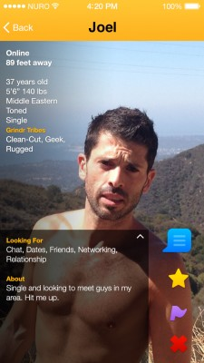 Grindr tribes
