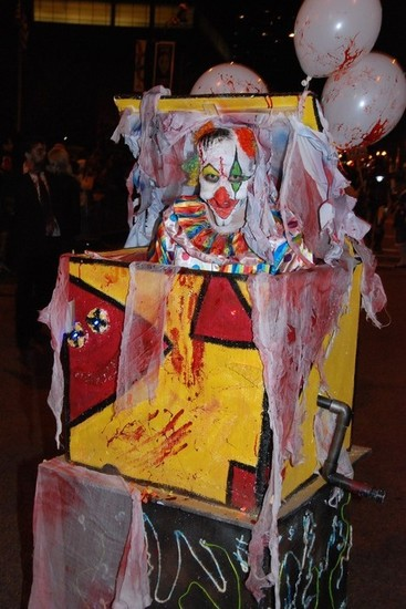 halsted halloween parade takes on twisted circus theme