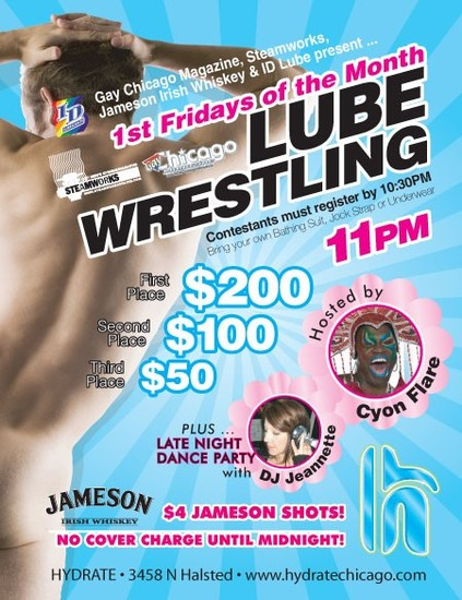Lube Wrestling At Hydrate
