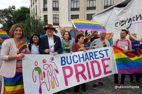 Thousands attend LGBT Pride parades in Poland, Romania