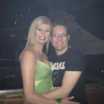 Jessika and DJ Matthew Harvat