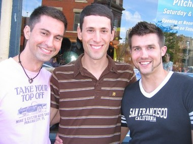 Tommaso, Mike and Brett on Halsted