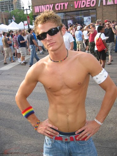 Austin from Indianapolis at PrideFest