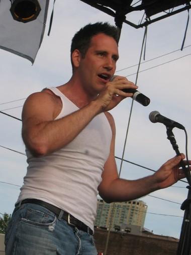 Scott at PrideFest