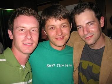 Jeff, Kevin and Dan at Roscoe's
