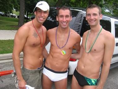 Yoav, Terry & Rocco at the Parade