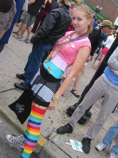 Monica at the Parade