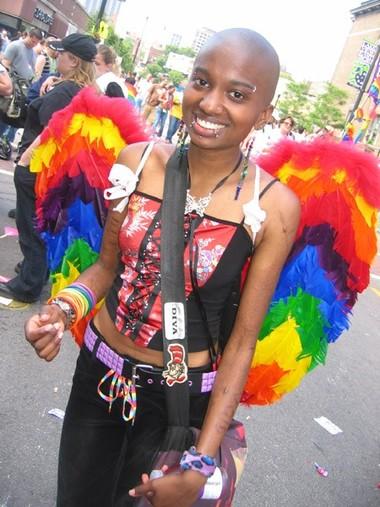 Maya at the Parade