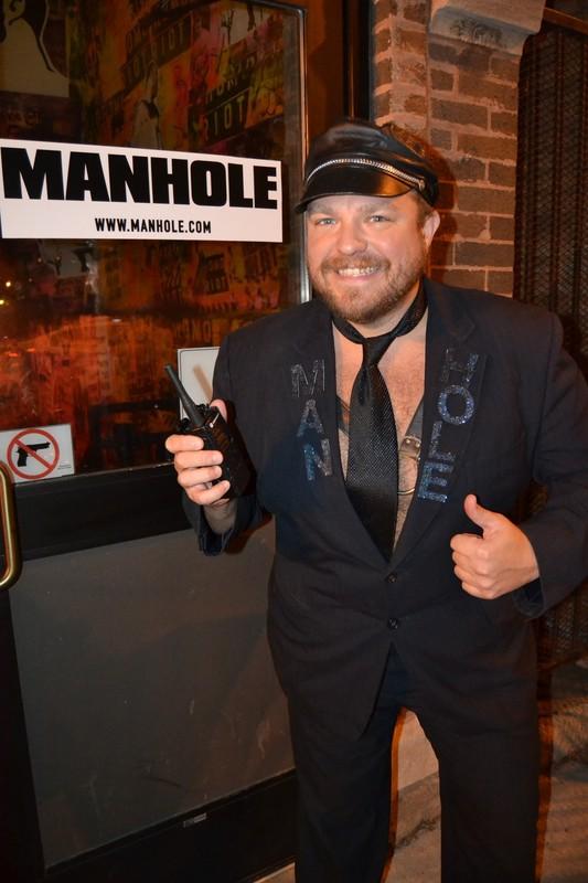 Richard Streetman at Manhole