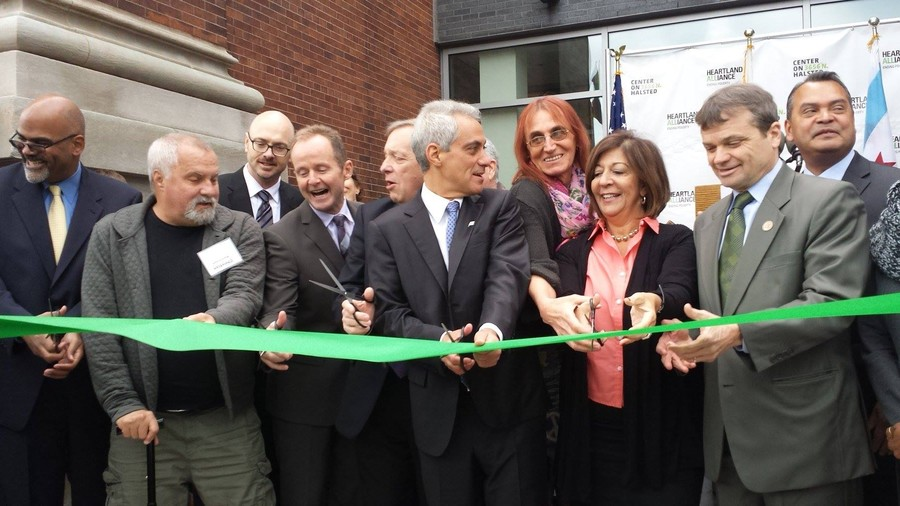 Town Hall Apartments opening