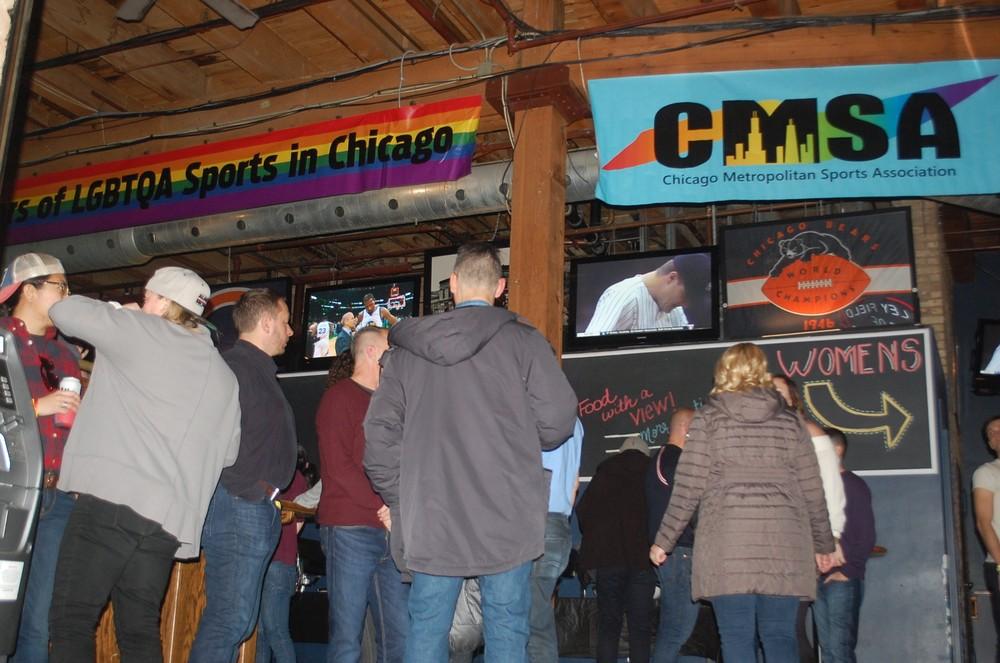 CMSA Party at Cubby Bear