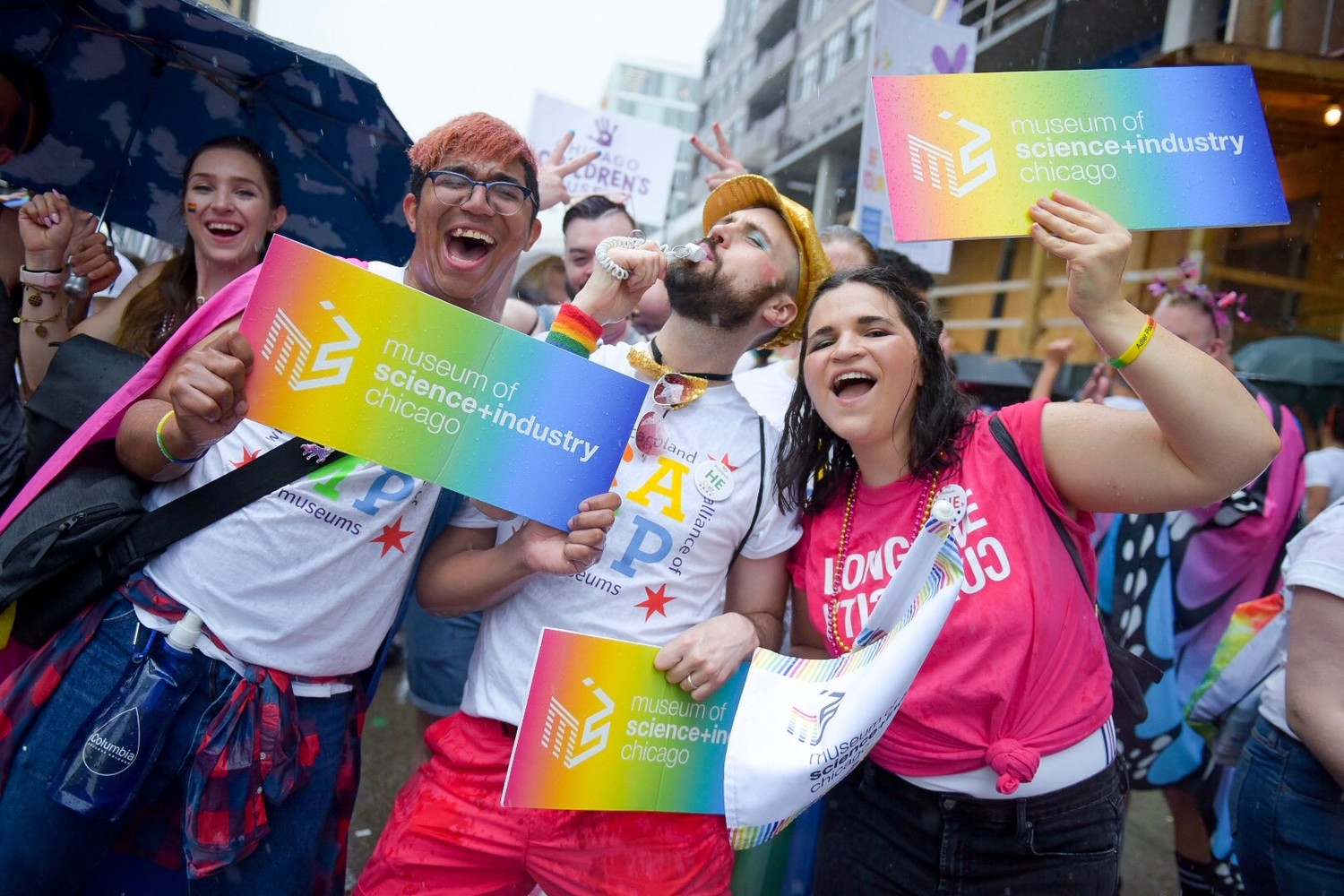 Chicago Pride Parade cut short due to storms