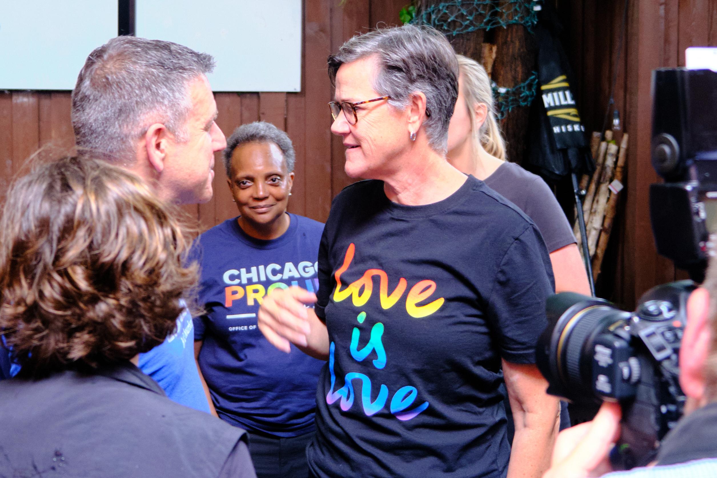 Happy Pride: Mayor Lightfoot visits Lakeview bars