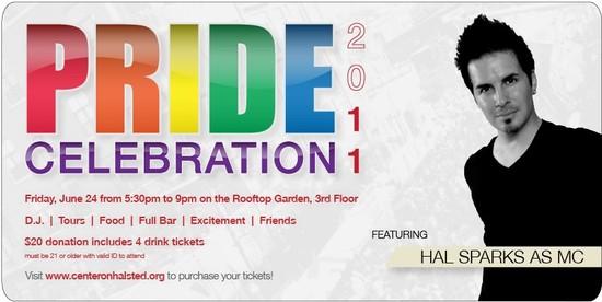 6/24/11 PRIDE Celebration 2011 hosted by Hal Sparks