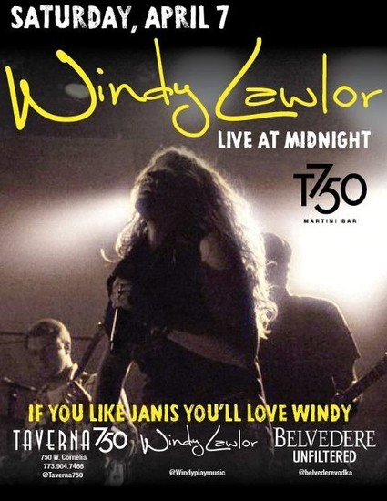 4/7/12 Windy Lawlor LIVE at T750