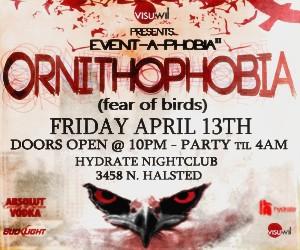 4/13/12 Ornithophobia!