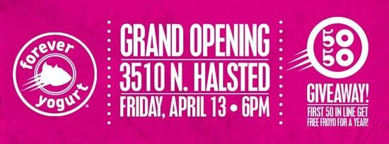4/13/12 Forever Yogurt Grand Opening!