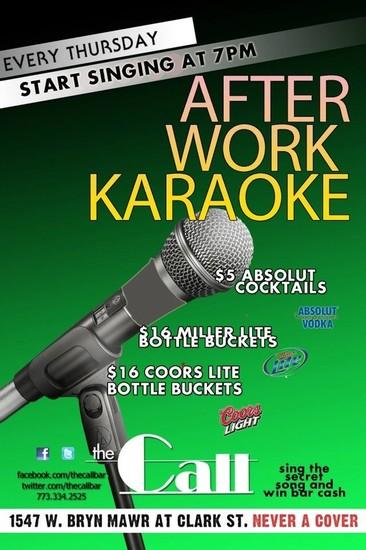8/9/12 After Work Karaoke