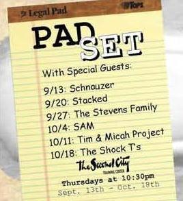 9/20/12 Pad Set