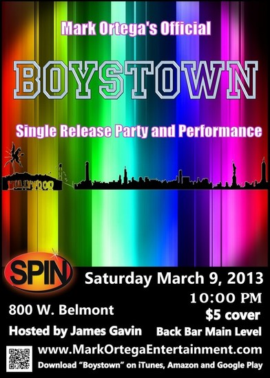 3/9/13 Mark Ortega's Official Boystown Release Party