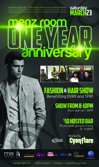 Menz Room One Year Anniversary Fashion & Hair Show Fundraiser
