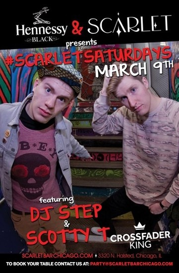 3/9/13 Scarlet Saturday with DJ Step and Scotty T