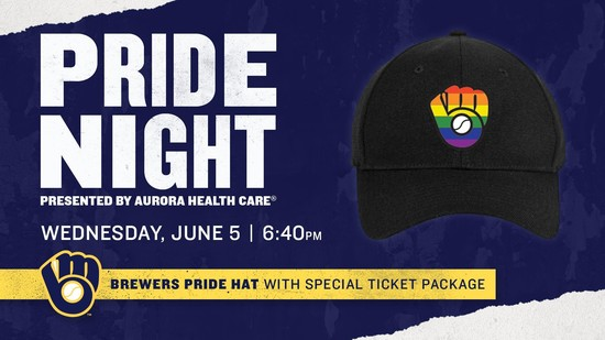 6/5/19 Pride Night with the Brewers