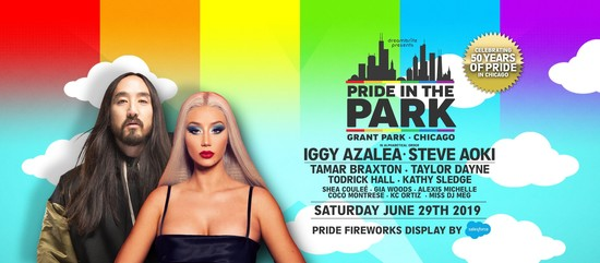 6/29/19 Pride in the Park Chicago 2019