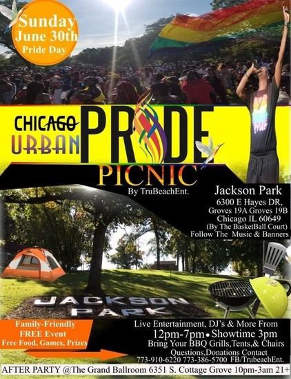 6/30/19 Chicago Urban Pride Picnic