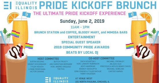 6/2/19 Equality Illinois Pride Kickoff Brunch
