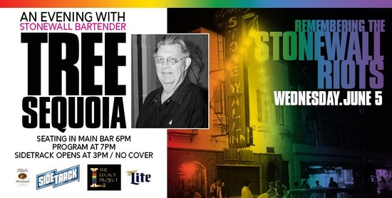 6/5/19 Remembering Stonewall: An Evening with Tree Sequoia