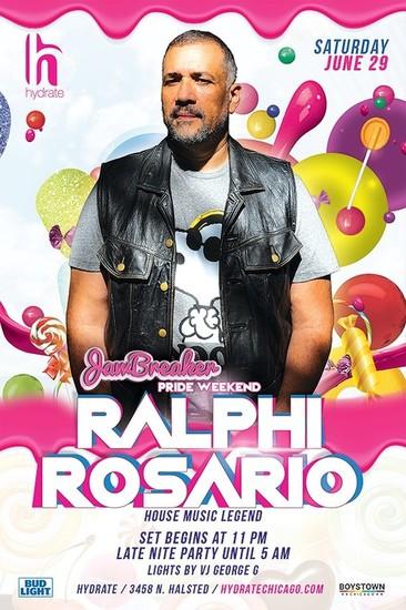 6/29/19 Pride Parade Saturday with House Music Legend Ralphi Rosario