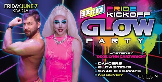 6/7/19 Pride Kickoff Glow Party