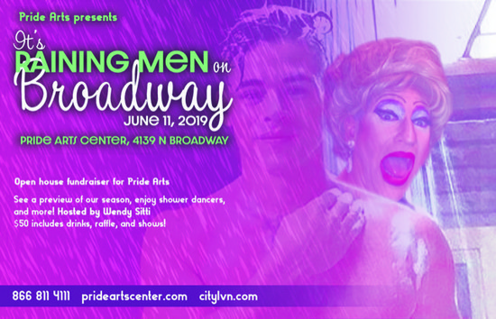 6/11/19 It's Raining Men on Broadway