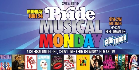 6/24/19 Special Edition Pride Musical Monday