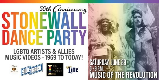 6/29/19 Stonewall 50 Dance Party
