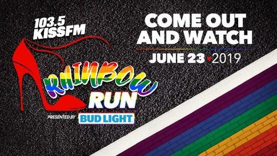 6/23/19 103.5 KISS FM Rainbow Run