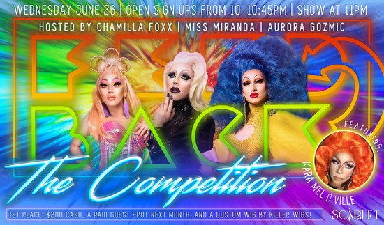 6/26/19 Feedback: Drag Open Stage Competition!