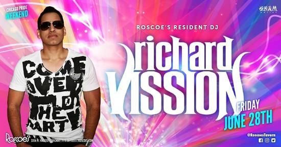 6/28/19 Richard Vission - Roscoe's Pride Weekend