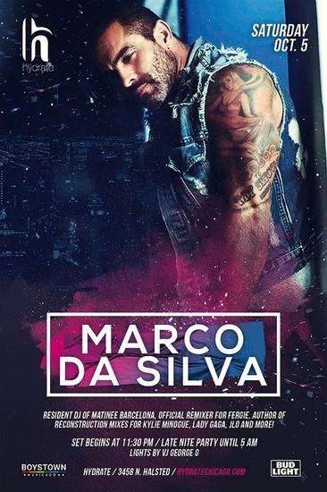 Marco Da Silva returns to Hydrate