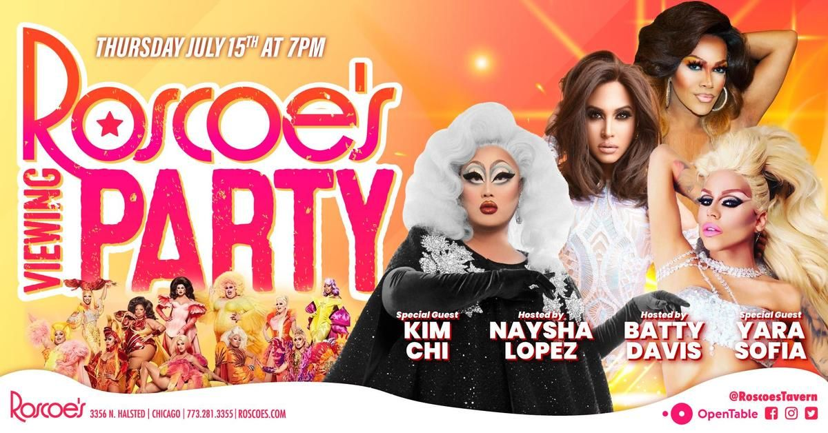 RuPaul's Drag Race Viewing Party with Batty Davis & Naysha Lopez