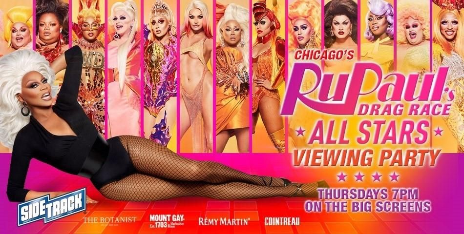 RuPaul's Drag Race All Stars Viewing Party at Sidetrack