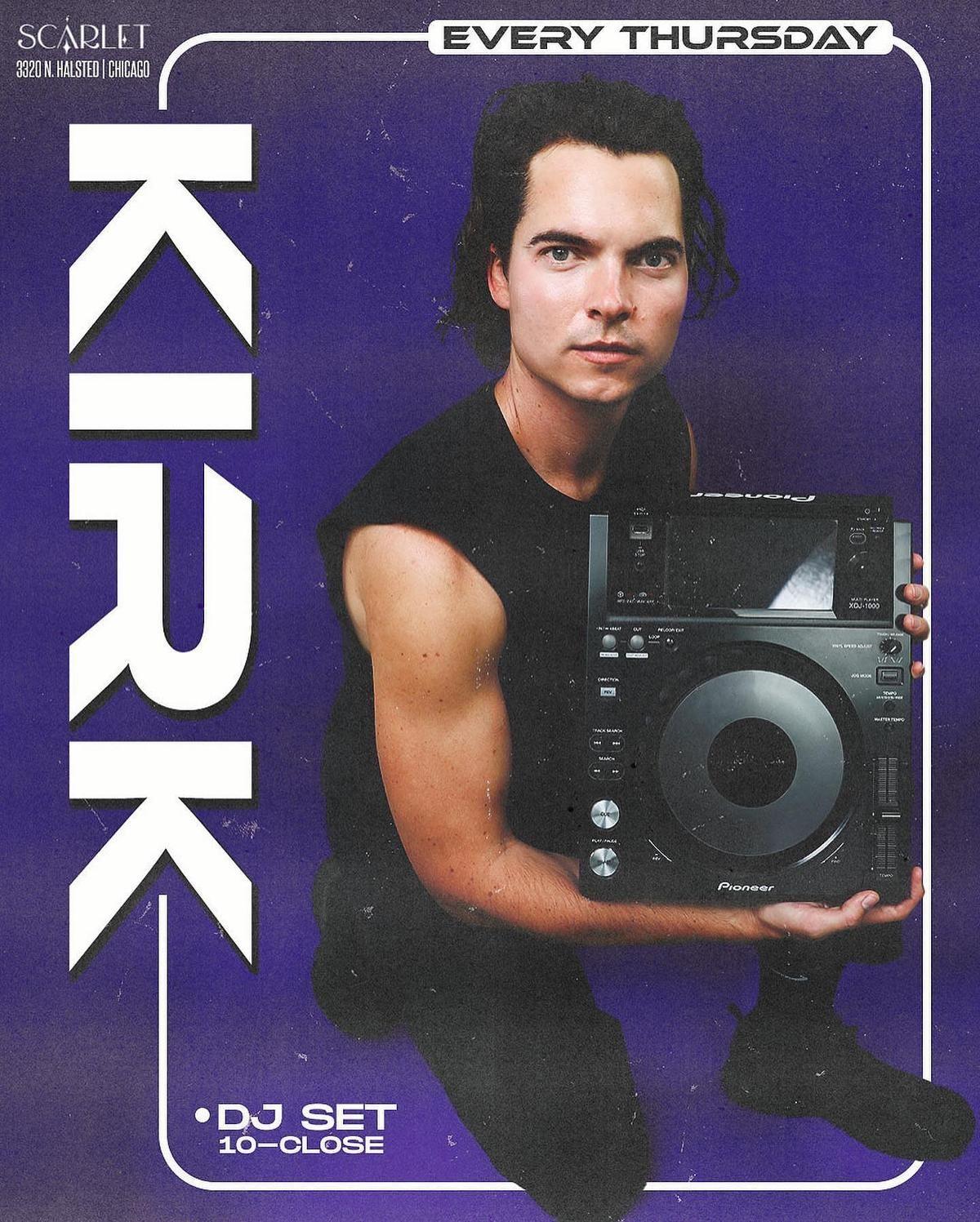 Frat Night with DJ Kirk