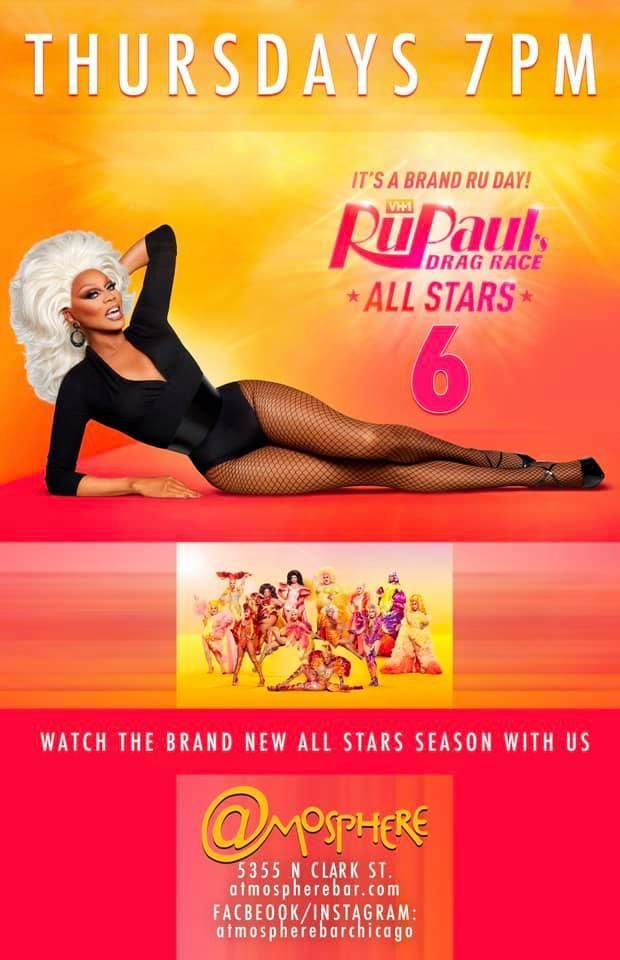 RuPaul's Drag Race Viewing Party at Atmosphere