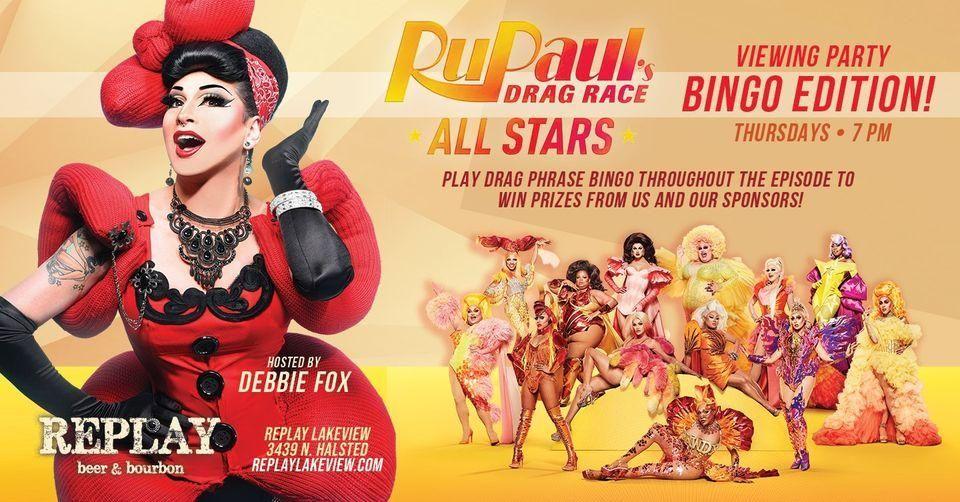 RuPaul's Drag Race Viewing Party: BINGO Edition