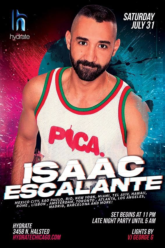Isaac Escalante at Hydrate
