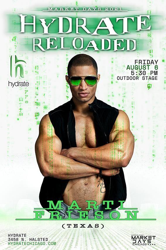 Hydrate Reloaded: DJ Marti Frieson