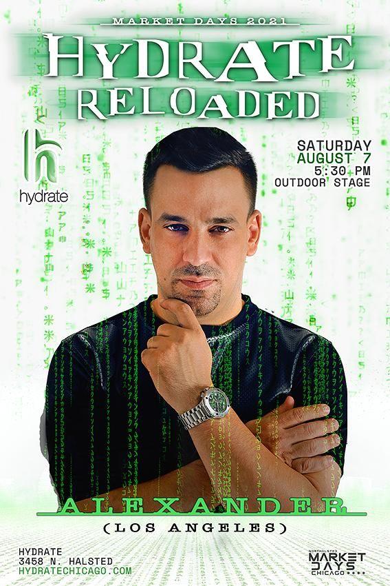 Hydrate Reloaded: DJ Alexander