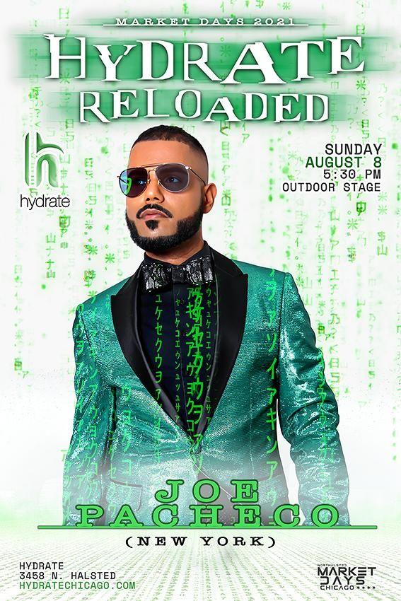 Hydrate Reloaded: DJ Joe Pacheco