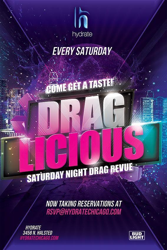 Draglicious Saturday Night Drag Review